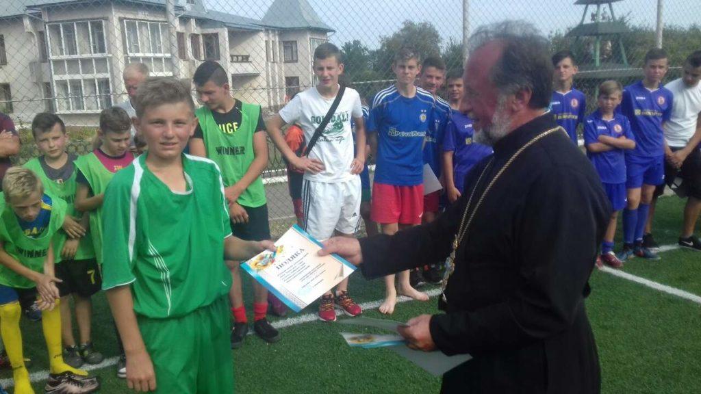 Відбірковий футбольний турнір серед команд катехитичних шкіл Коломийського та Печеніжинського благочинь