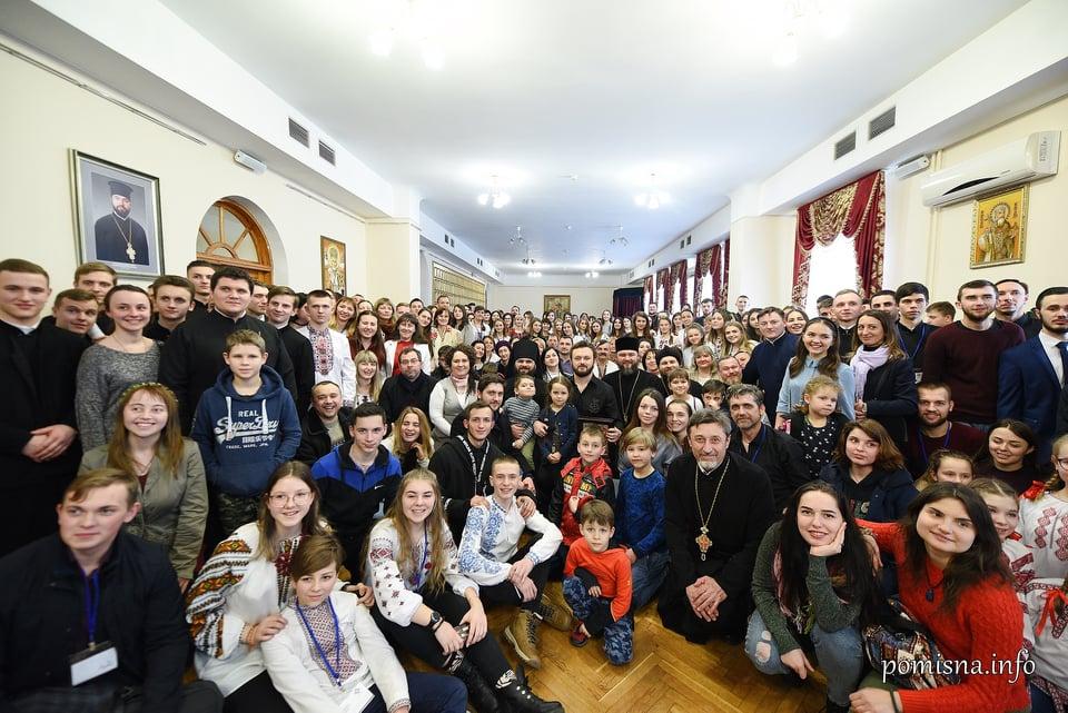 Представники Коломийської Єпархії взяли участь у Всеукраїнському з'їзді православної молоді